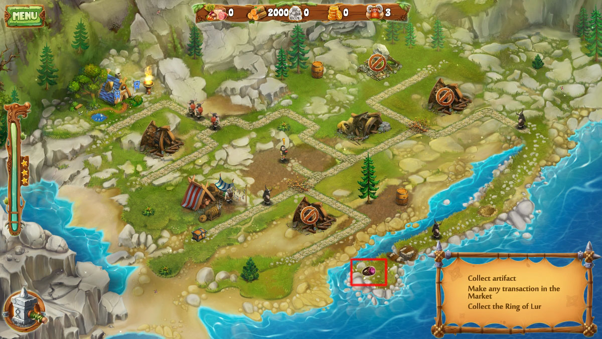 Viking Chronicles: Tale of the Lost Queen Walkthrough, Tips, Tricks and Strategy Guides Screenshots 3