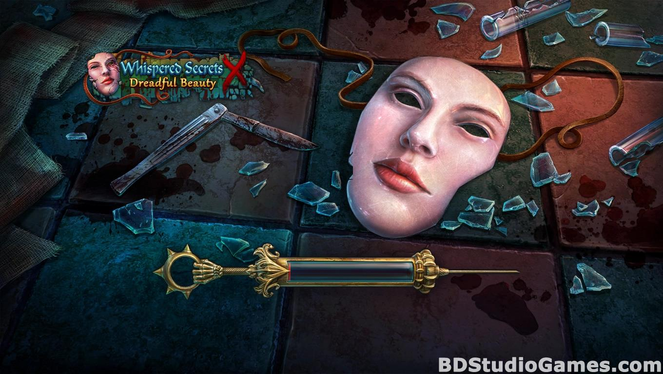 Whispered Secrets: Dreadful Beauty Collector's Edition Free Download Screenshots 01
