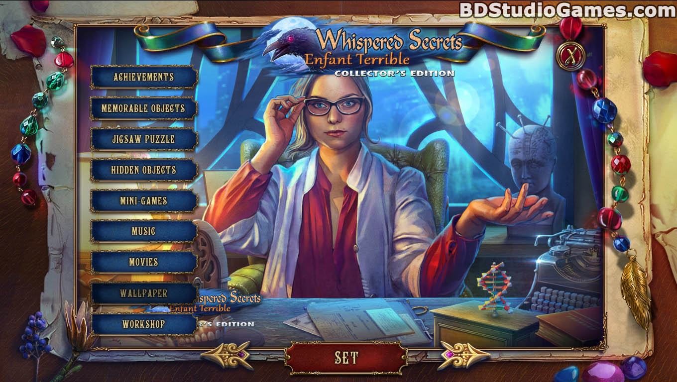 Whispered Secrets: Enfant Terrible Game Download Screenshots 05