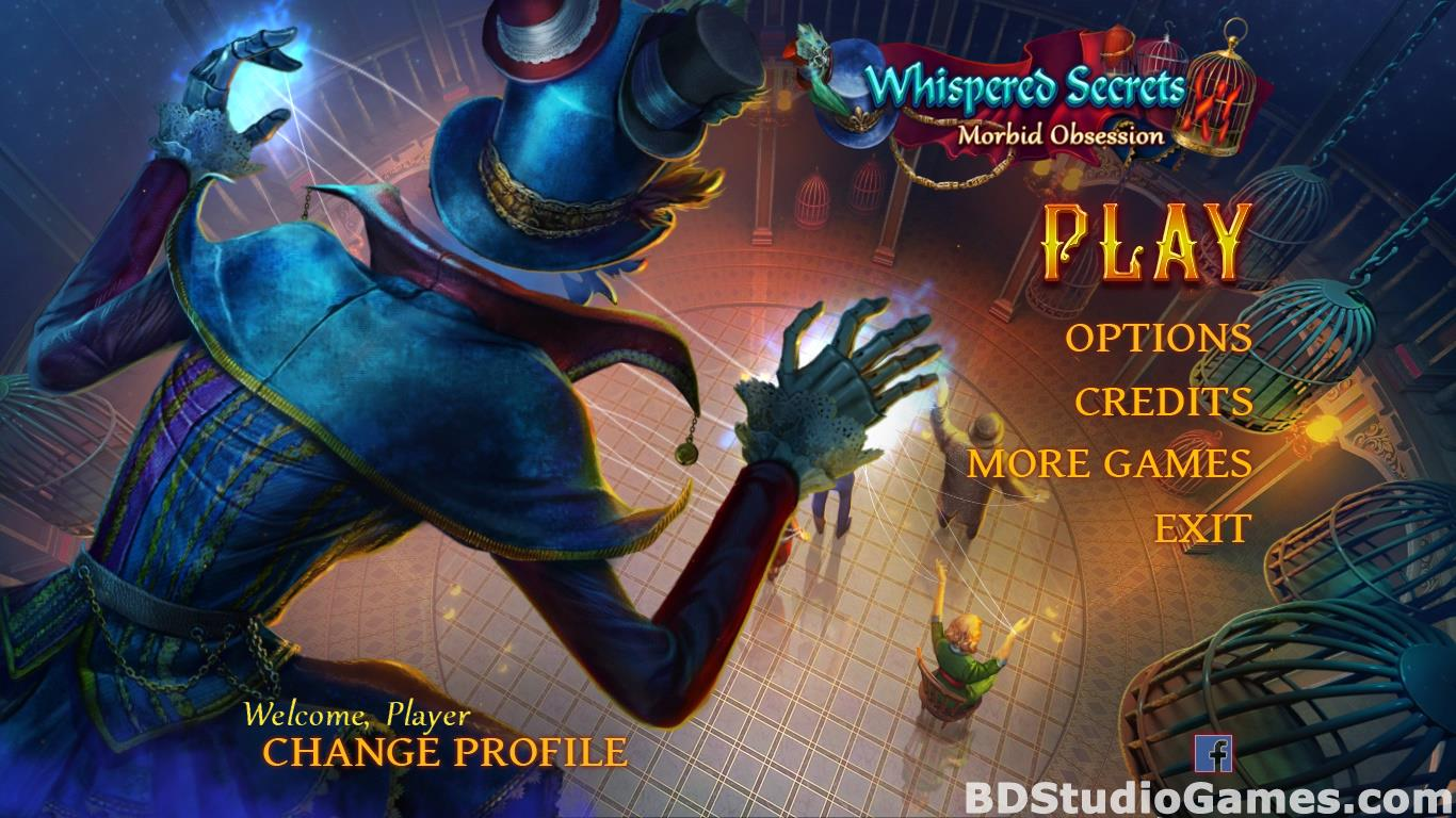 Whispered Secrets: Morbid Obsession Collector's Edition Free Download Screenshots 01