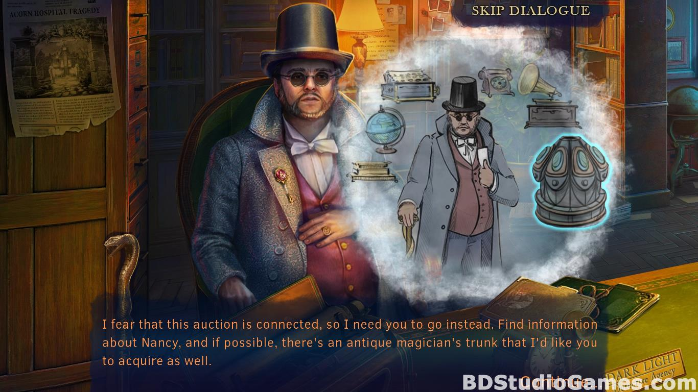 Whispered Secrets: Morbid Obsession Collector's Edition Free Download Screenshots 13