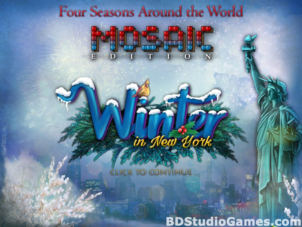Winter in New York Mosaic Edition Free Download Screenshots 01