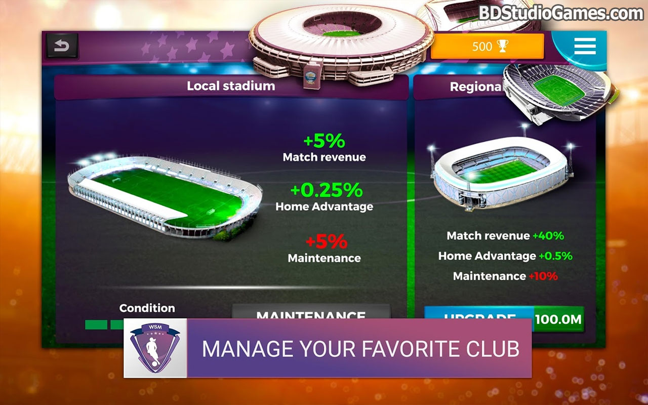 Women's Soccer Manager Free Download Screenshots 1