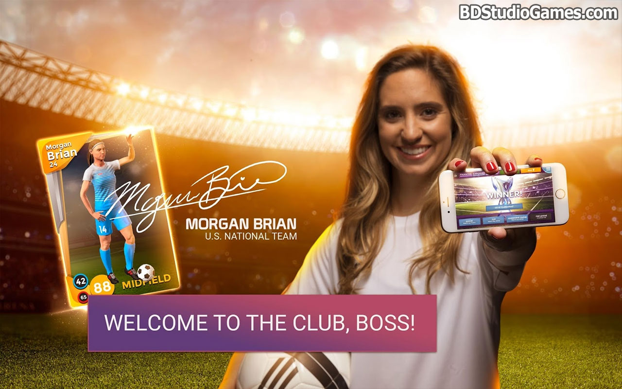 Women's Soccer Manager Free Download Screenshots 2