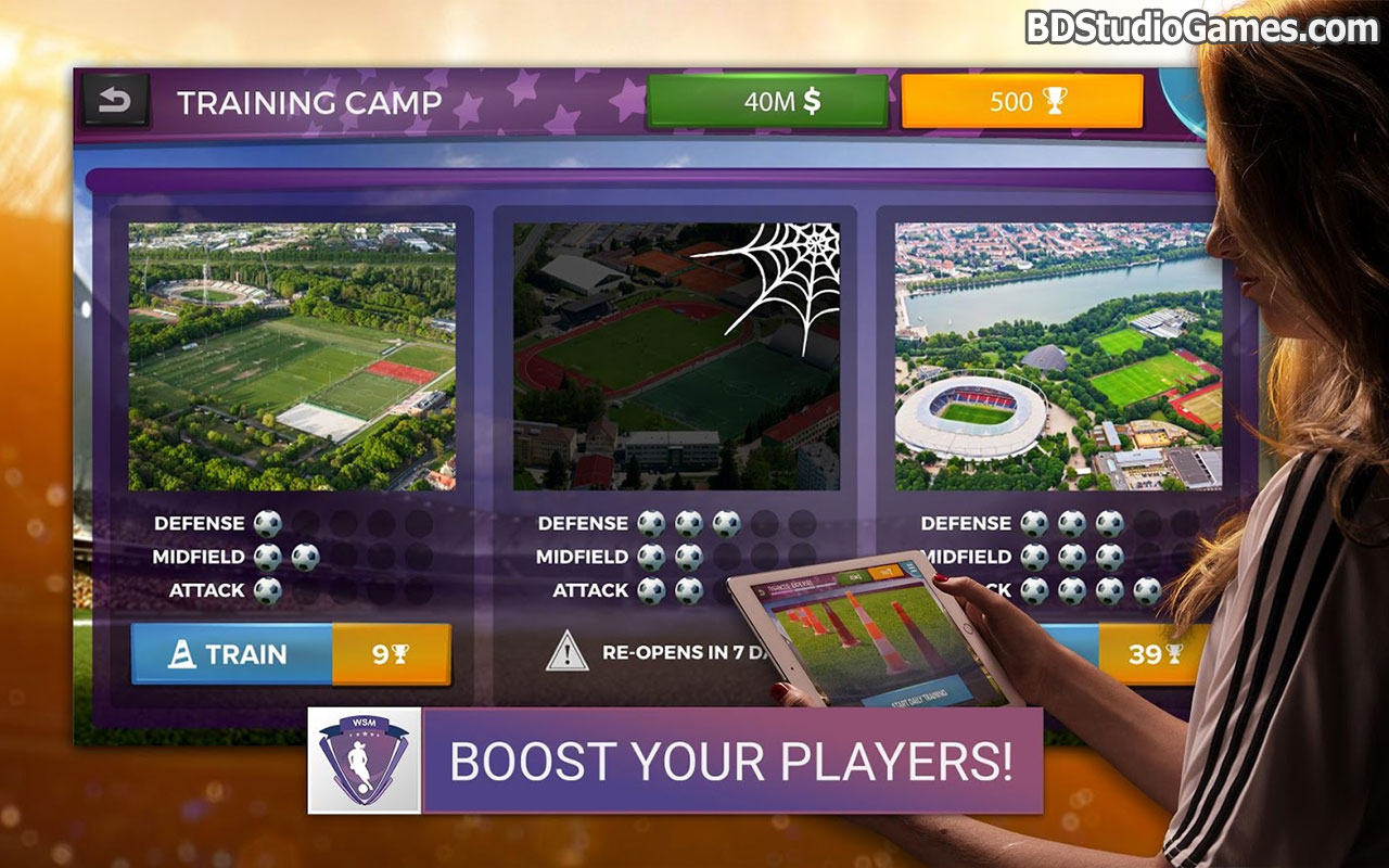 Women's Soccer Manager Free Download Screenshots 3