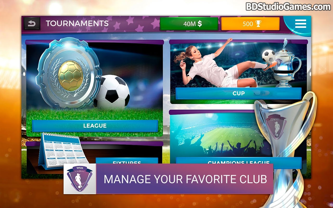 Women's Soccer Manager Free Download Screenshots 4