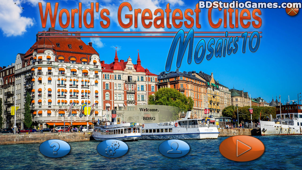 World's Greatest Cities: Mosaics 10 Free Download Screenshots 1
