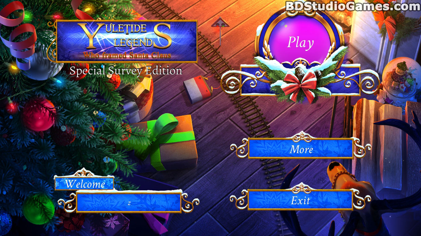 Yuletide Legends: Who Framed Santa Claus Collector's Edition Free Download Screenshots 1