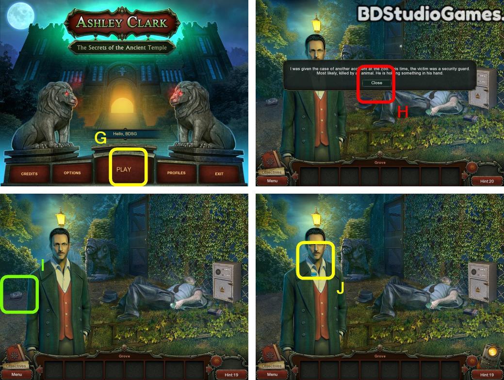 Ashley Clark: The Secrets of the Ancient Temple Walkthrough Screenshot 0001