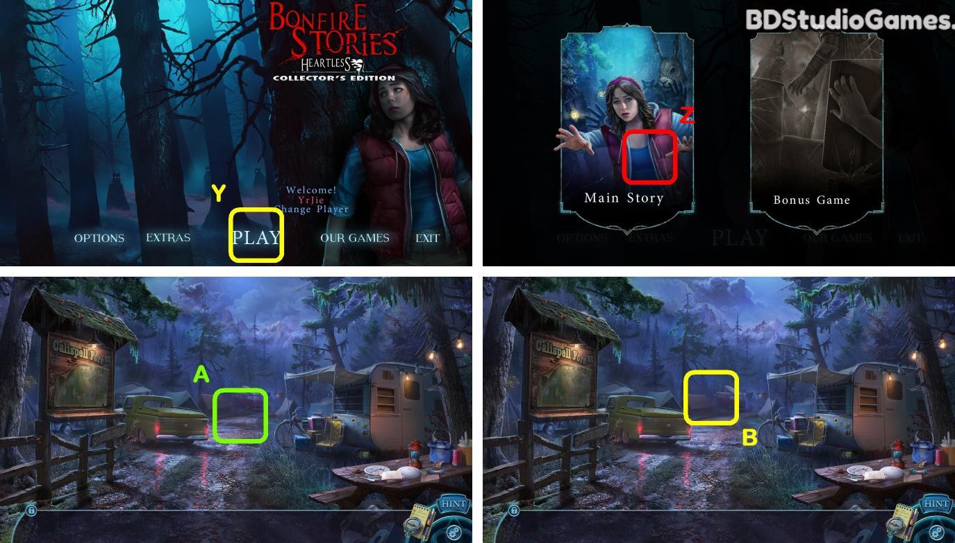 Bonfire Stories: Heartless Walkthrough Screenshot 0001