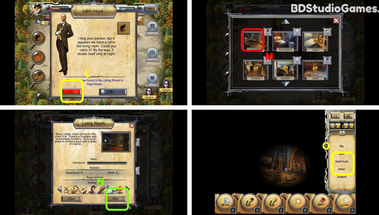 Castle Secrets: Between Day And Night Walkthrough Screenshot 0029