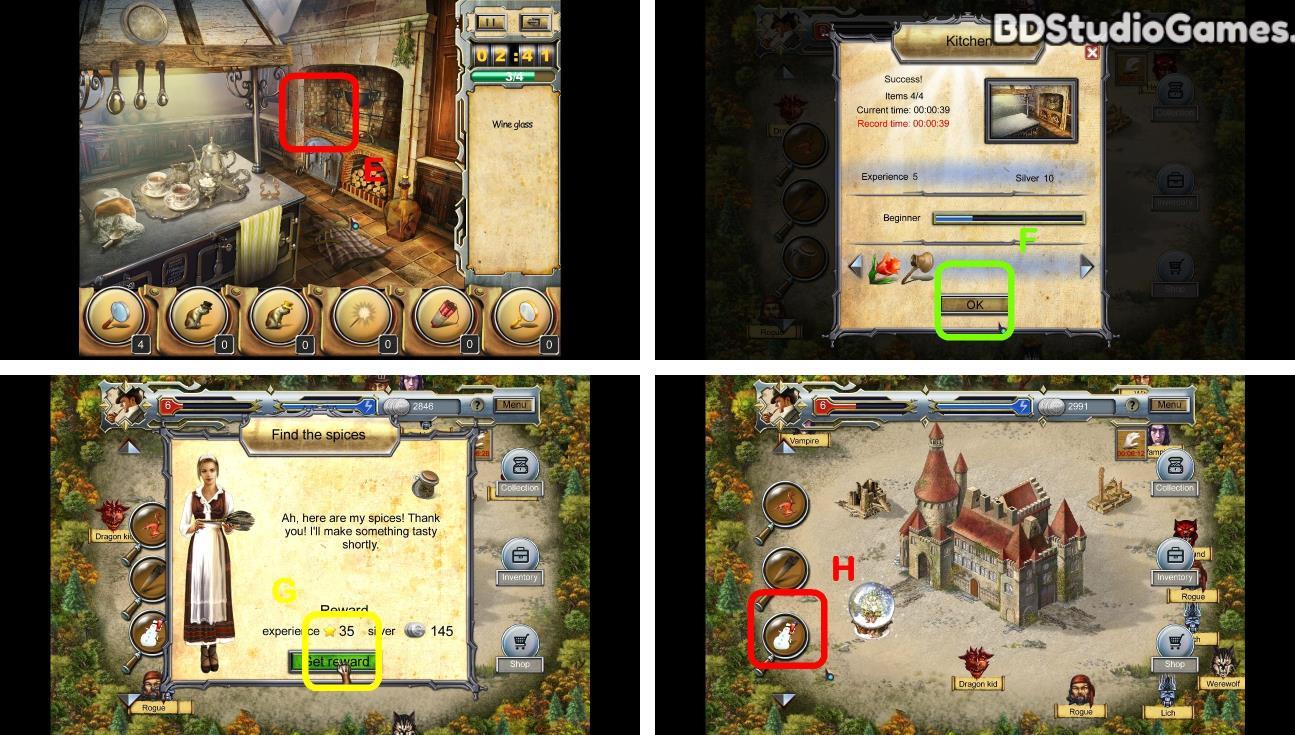 Castle Secrets: Between Day And Night Walkthrough Screenshot 0053