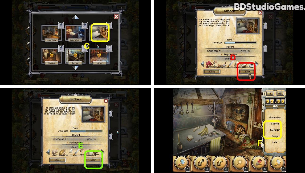 Castle Secrets: Between Day And Night Walkthrough Screenshot 0122