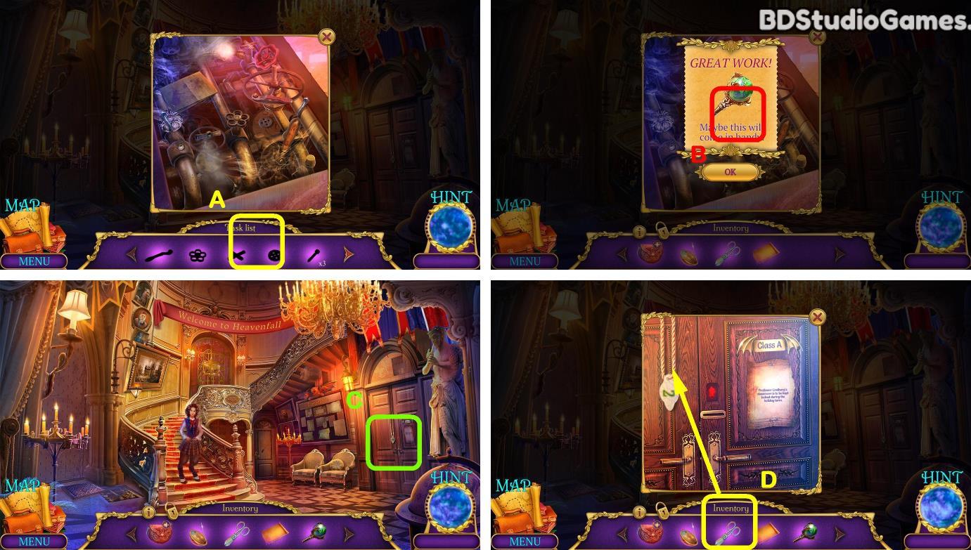 Chimeras: Heavenfall Secrets Walkthrough Screenshot 0004