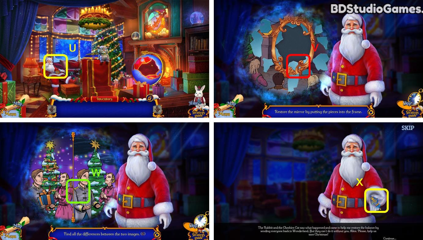 Christmas Stories: Alice's Adventures Walkthrough Screenshot 0004