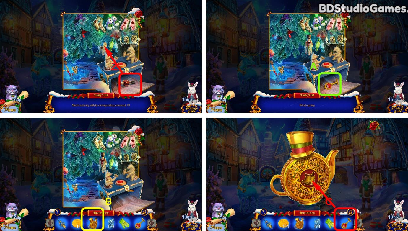Christmas Stories: Alice's Adventures Walkthrough Screenshot 0012