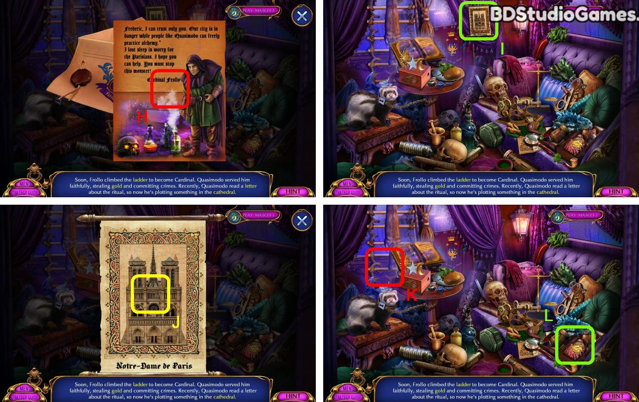Dark Romance: Hunchback Of Notre Dame Walkthrough Screenshot 0007