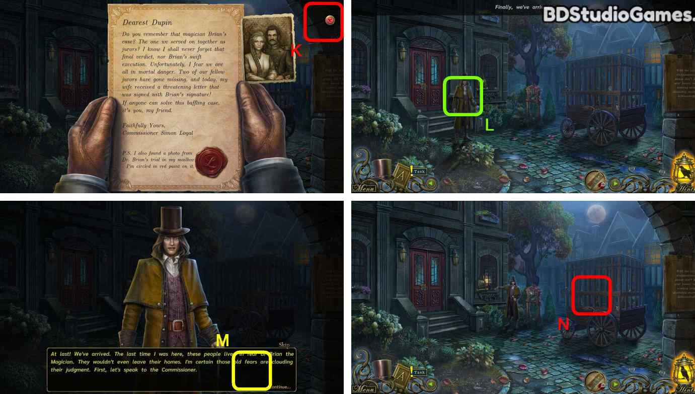 Dark Tales: Edgar Allan Poe's Speaking with the Dead Walkthrough Screenshot 0002