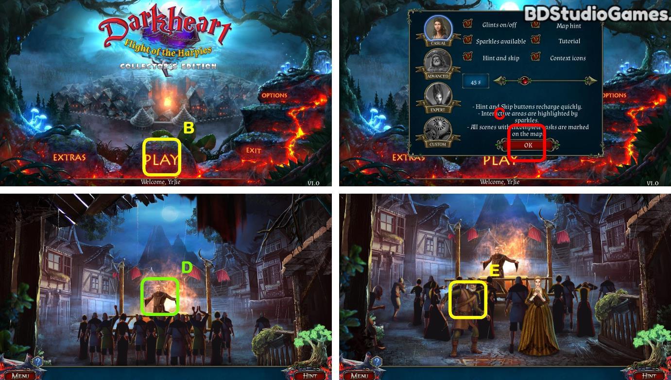 Darkheart: Flight of the Harpies Walkthrough Screenshot 0001