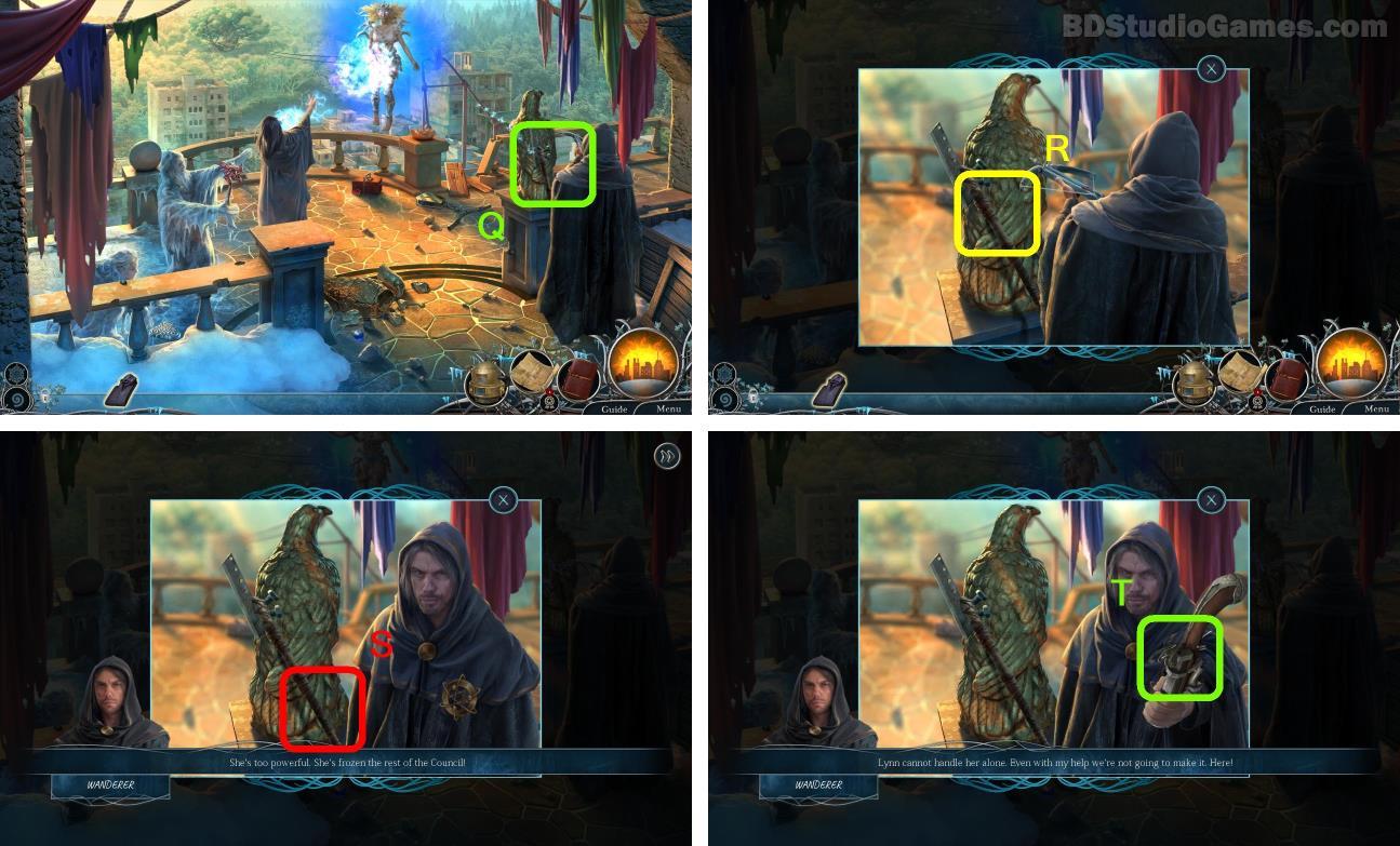 Dawn of Hope: The Frozen Soul Walkthrough Screenshot