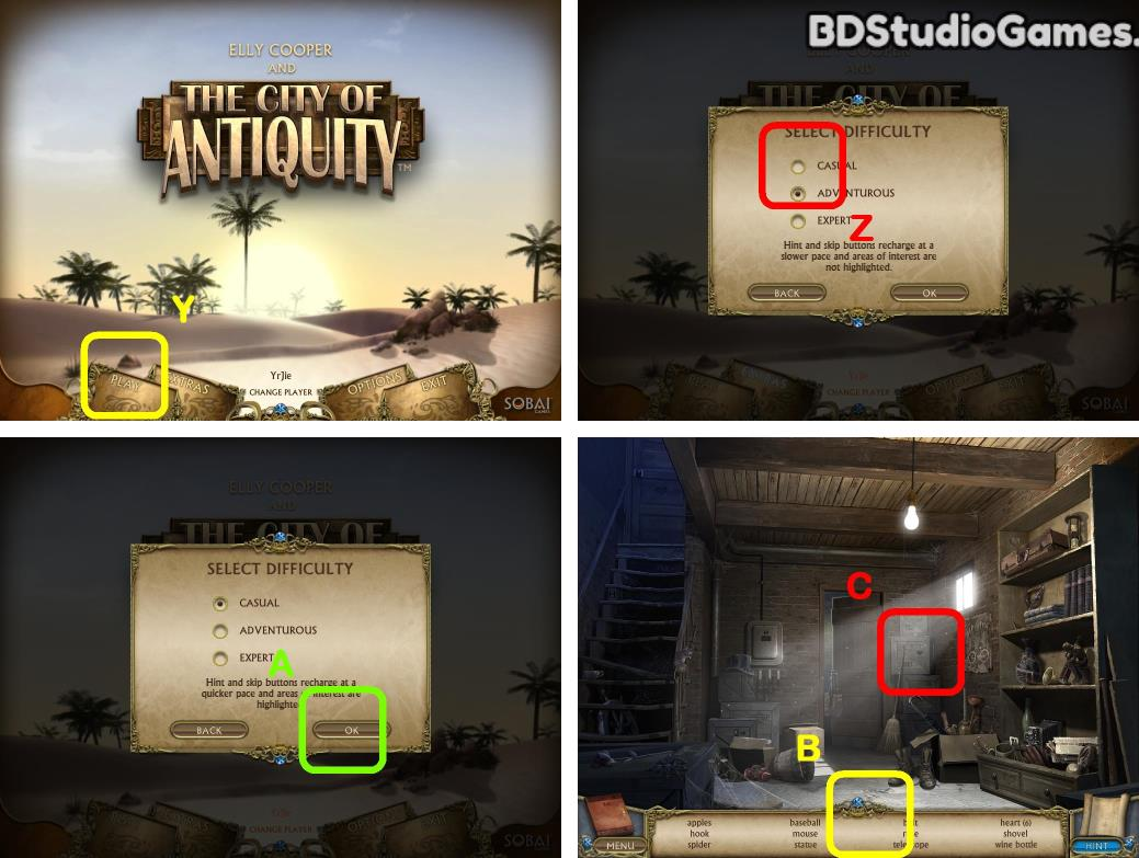 Elly Cooper and the City of Antiquity Walkthrough Screenshot 0001