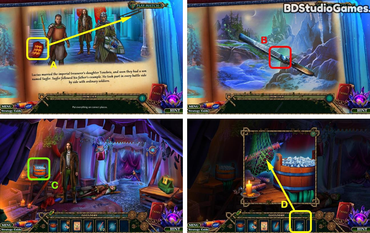 Enchanted Kingdom: Fiend of Darkness Bonus Chapter Walkthrough Screenshot 0008