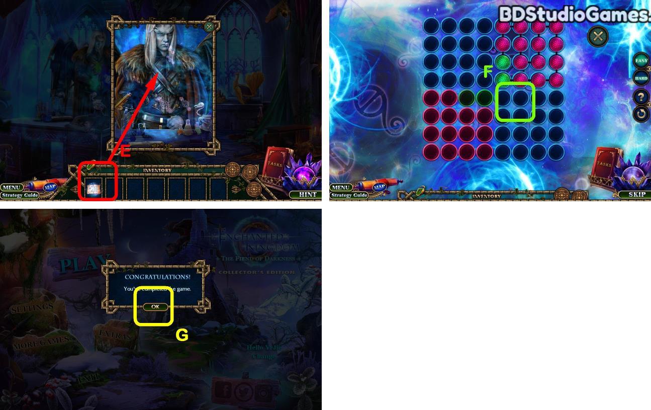 Enchanted Kingdom: Fiend of Darkness Bonus Chapter Walkthrough Screenshot 0099