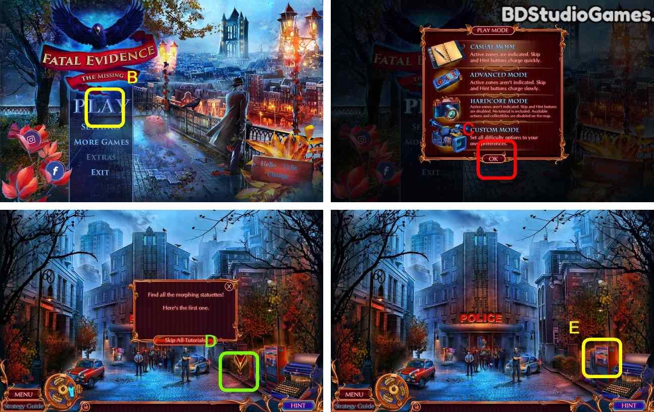 Fatal Evidence: The Missing Walkthrough Screenshot 0001
