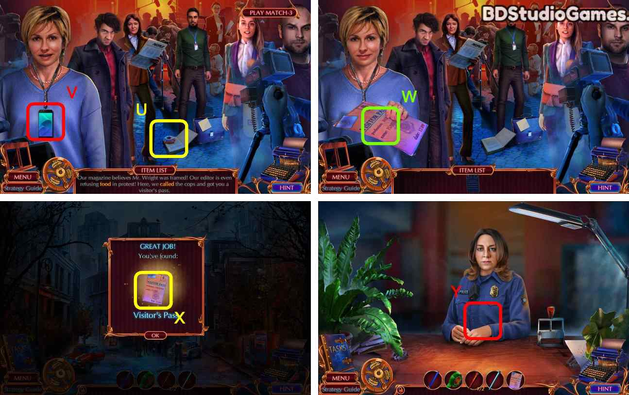 Fatal Evidence: The Missing Walkthrough Screenshot 0011
