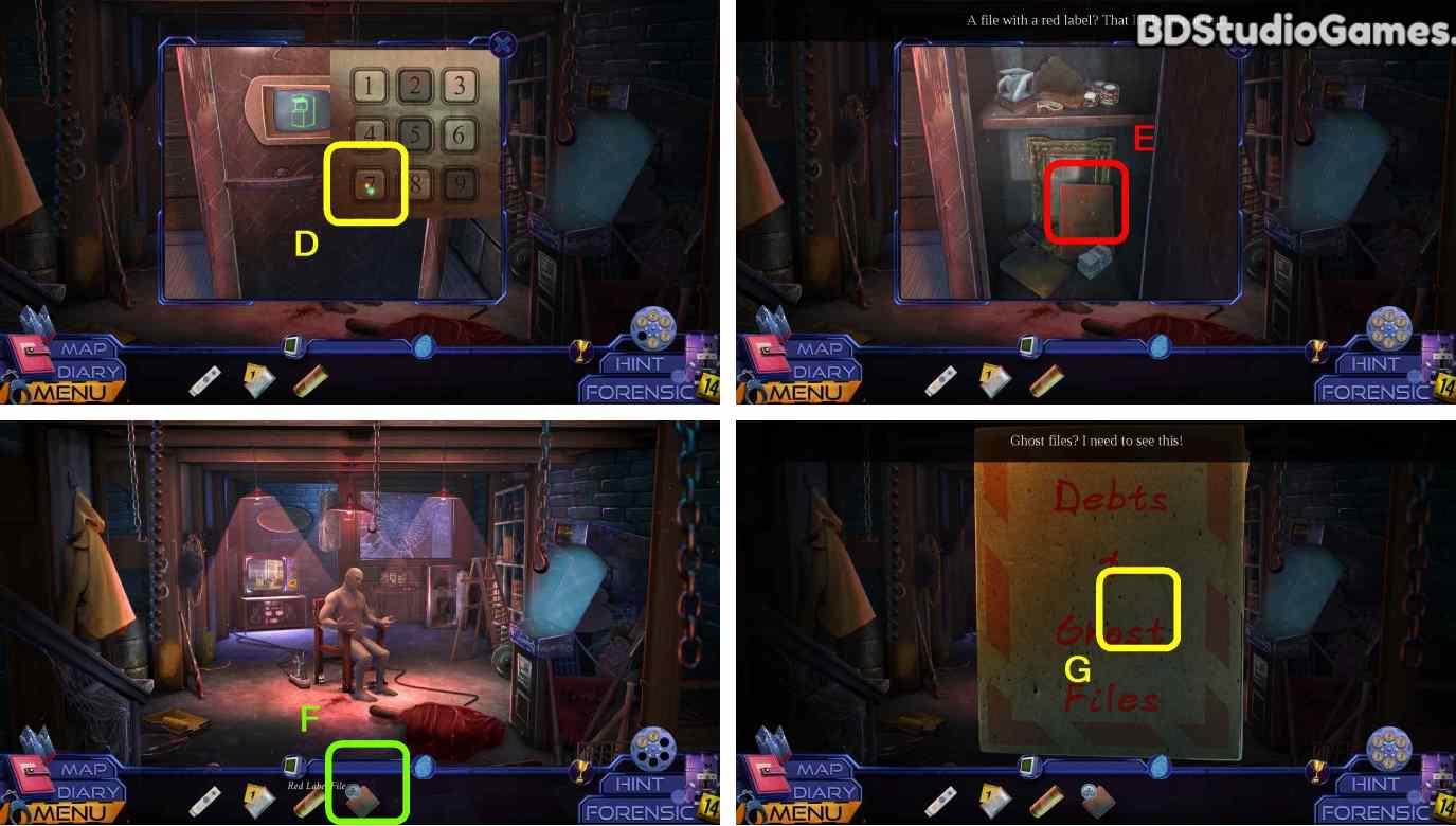 Ghost Files: Memory Of A Crime Walkthrough Screenshot 0087