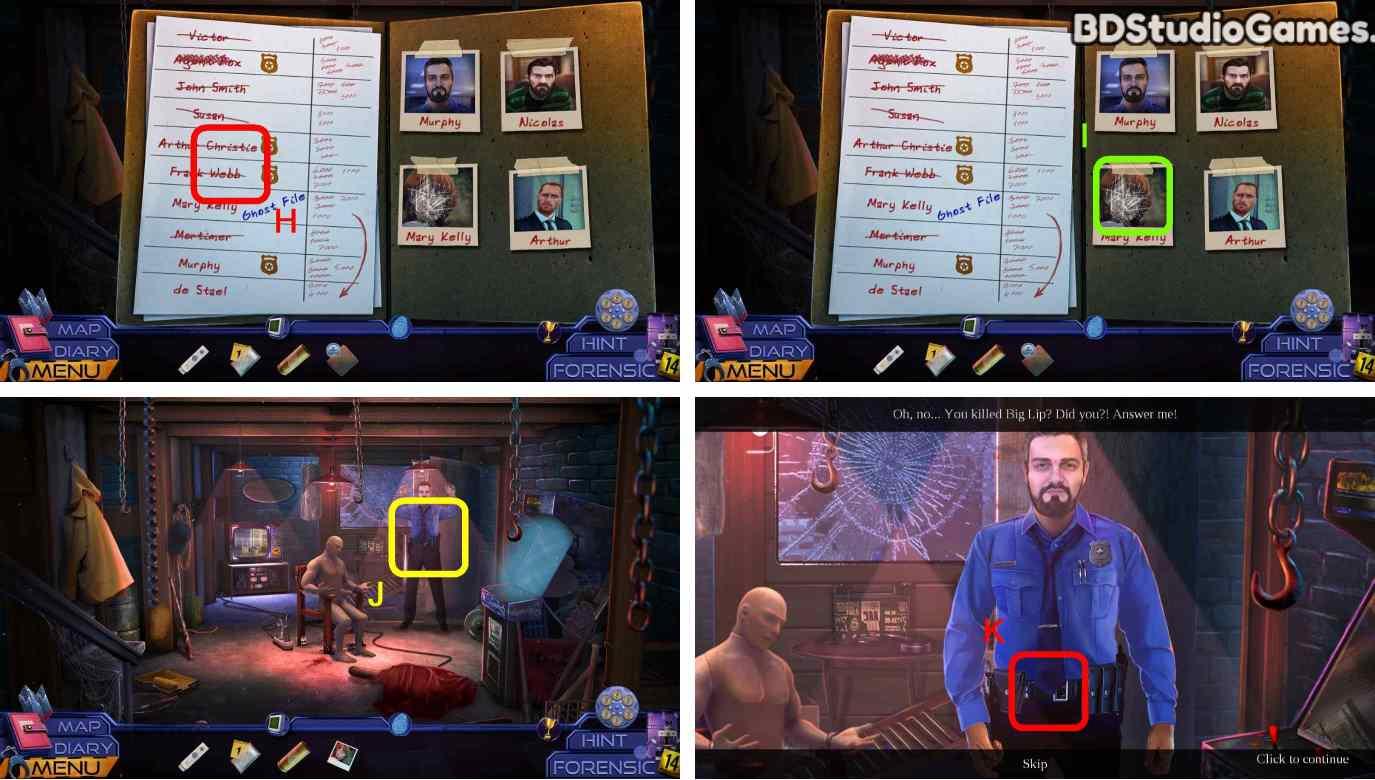 Ghost Files: Memory Of A Crime Walkthrough Screenshot 0088