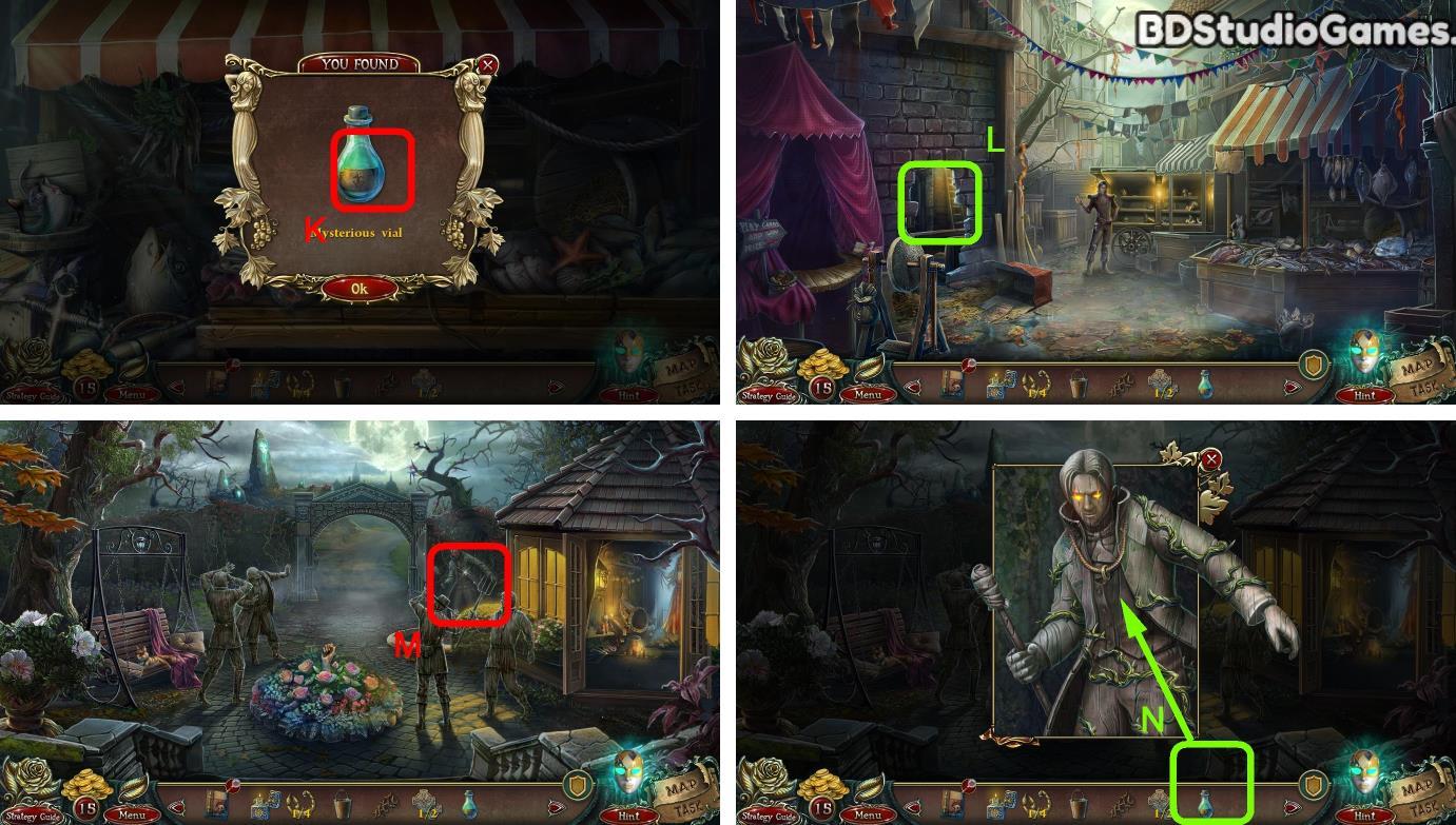 Grim Facade: The Black Cube Walkthrough Screenshot 0060