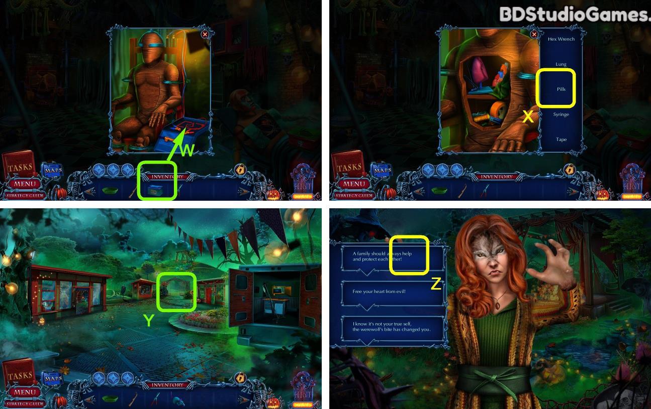 Halloween Chronicles: Monsters Among Us Walkthrough Screenshot 0309