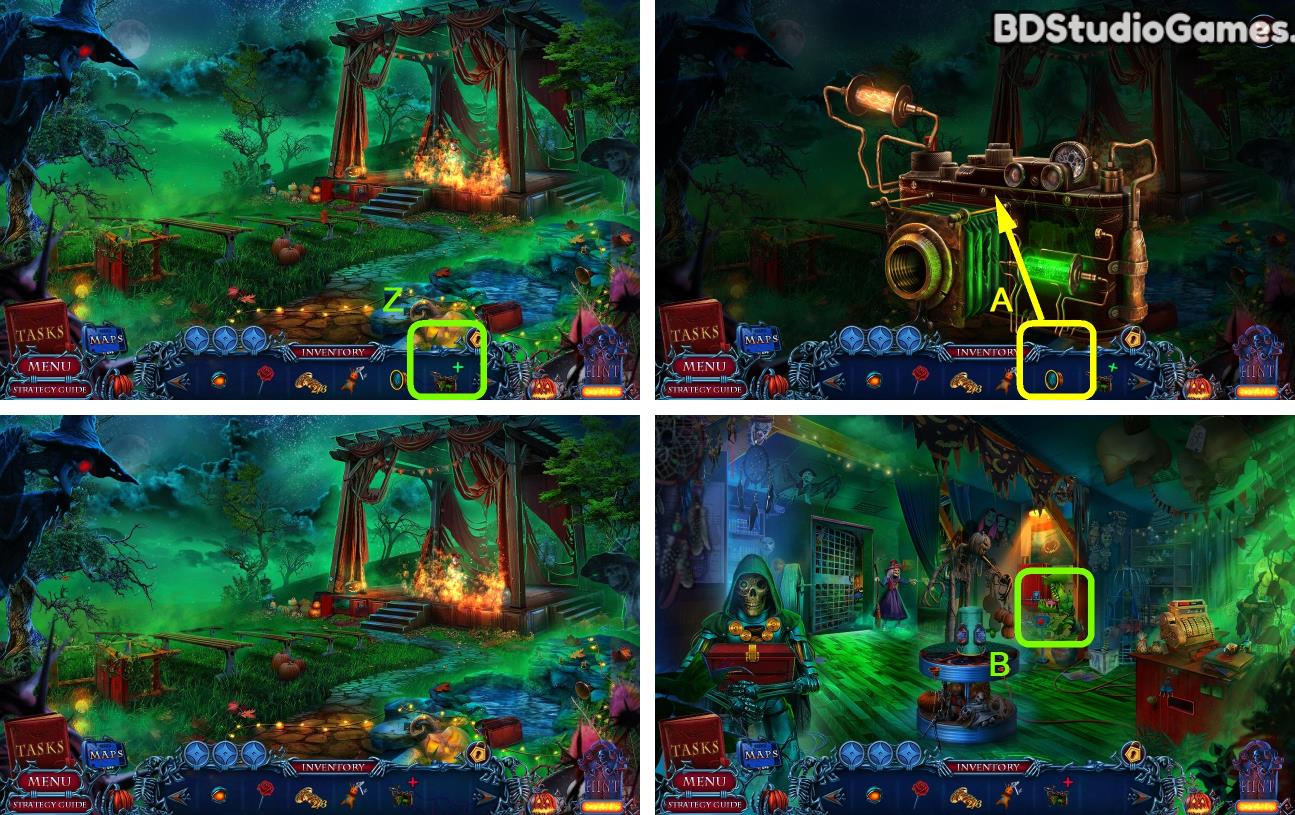 Halloween Chronicles: Monsters Among Us Walkthrough Screenshot 0316
