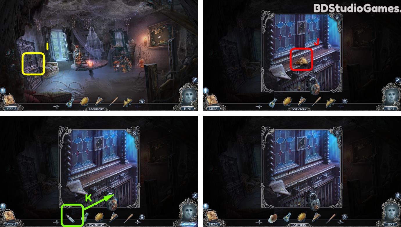Halloween Stories: Black Book Bonus Chapter Walkthrough Screenshot 0023