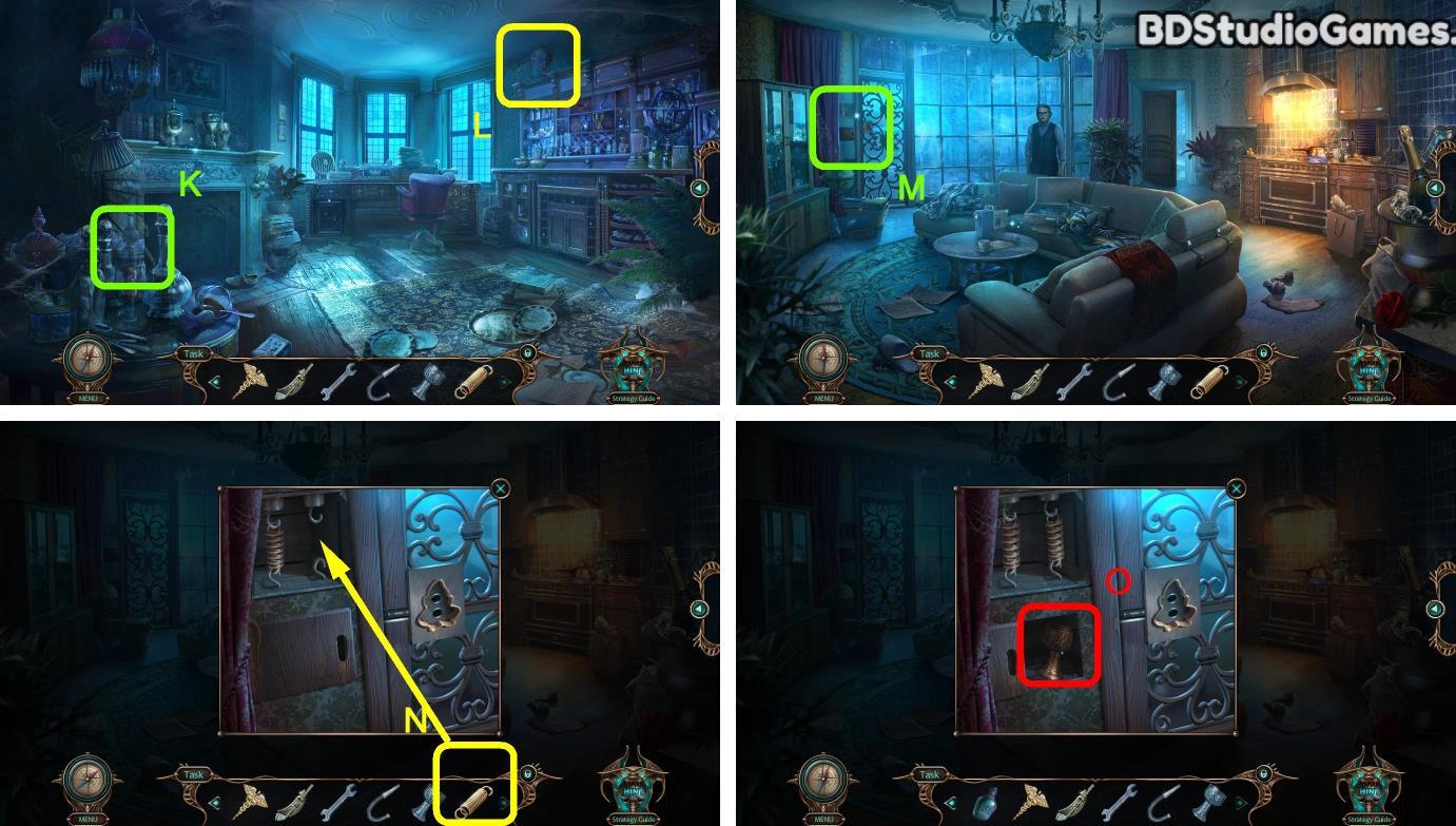 Haunted Hotel: Beyond the Page Walkthrough Screenshot 0090