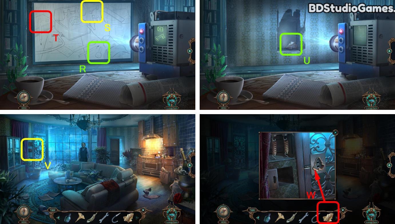 Haunted Hotel: Beyond the Page Walkthrough Screenshot 0095
