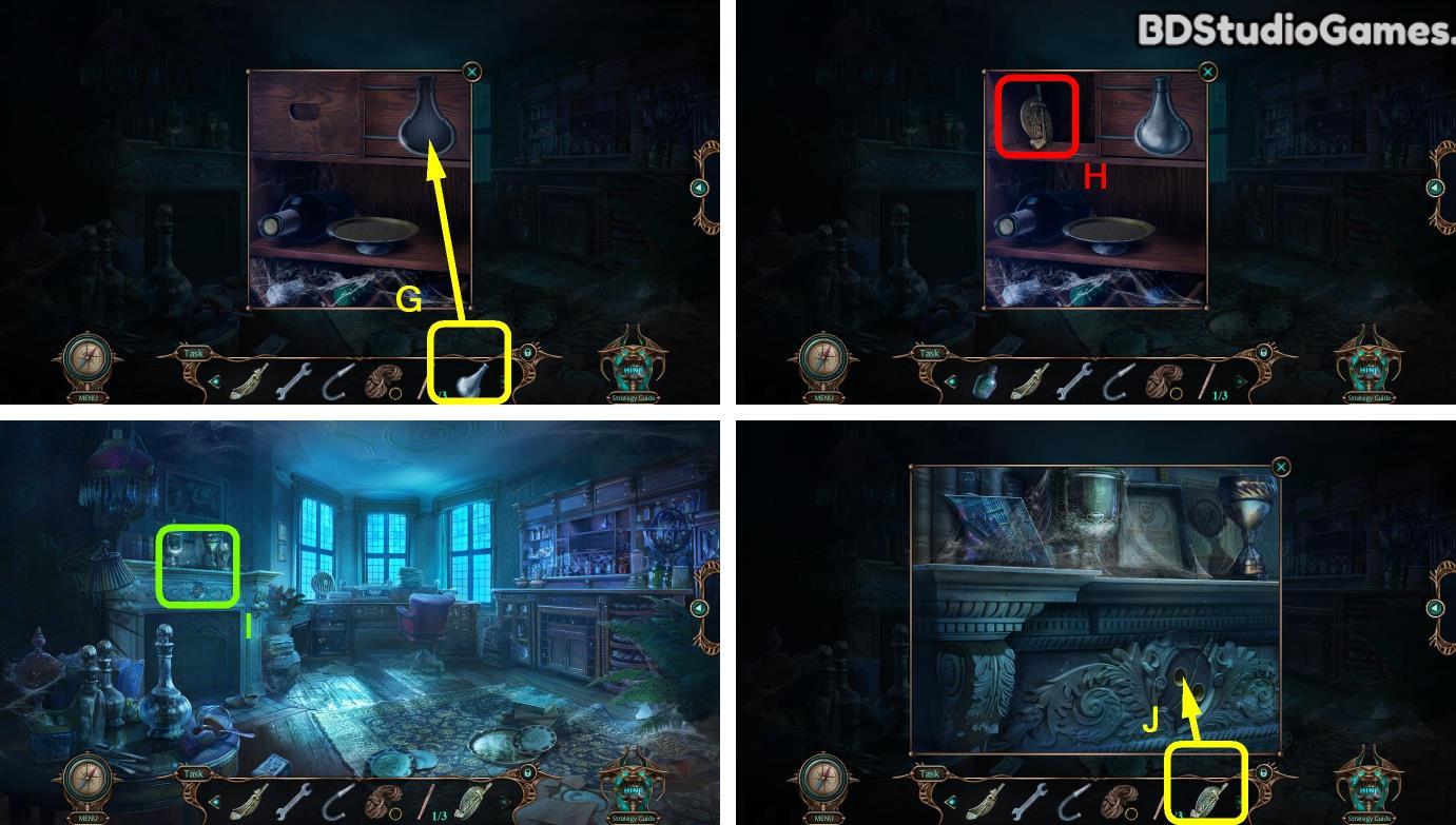 Haunted Hotel: Beyond the Page Walkthrough Screenshot 0098