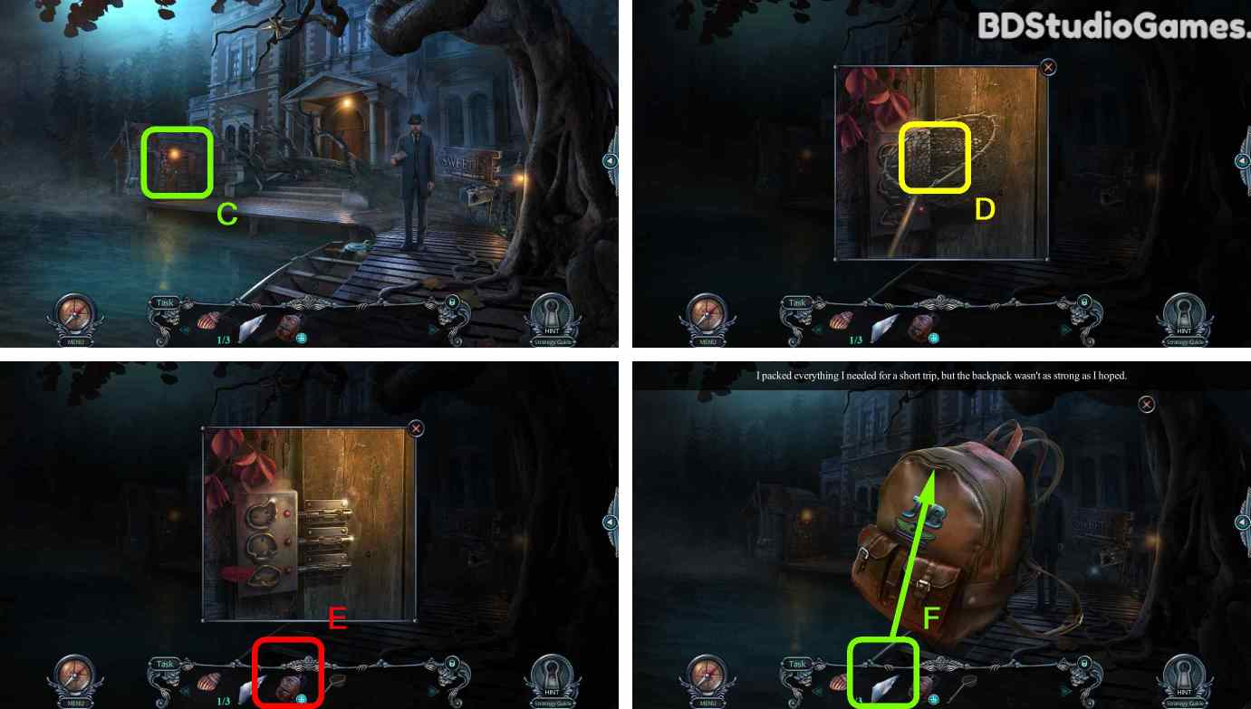 Haunted Hotel: Room 18 Walkthrough Screenshot 0003