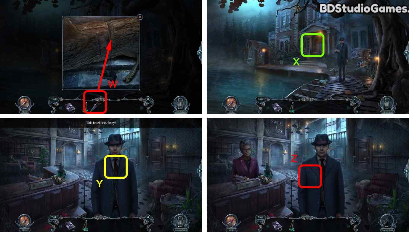 Haunted Hotel: Room 18 Walkthrough Screenshot 0008