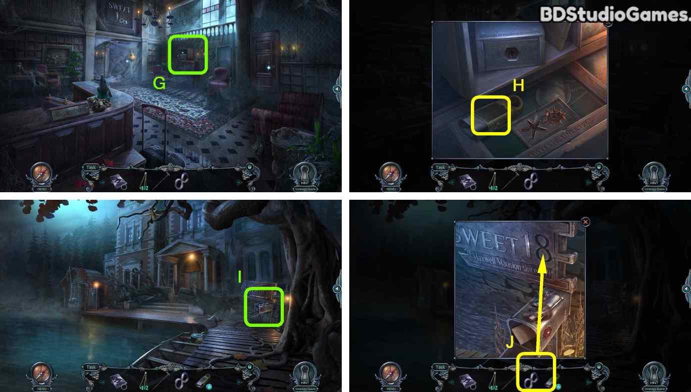 Haunted Hotel: Room 18 Walkthrough Screenshot 0010