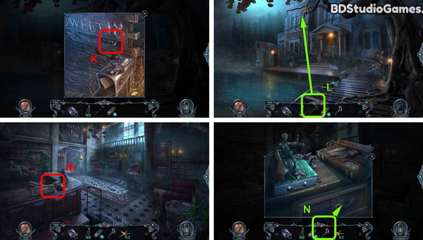 Haunted Hotel: Room 18 Walkthrough Screenshot 0011