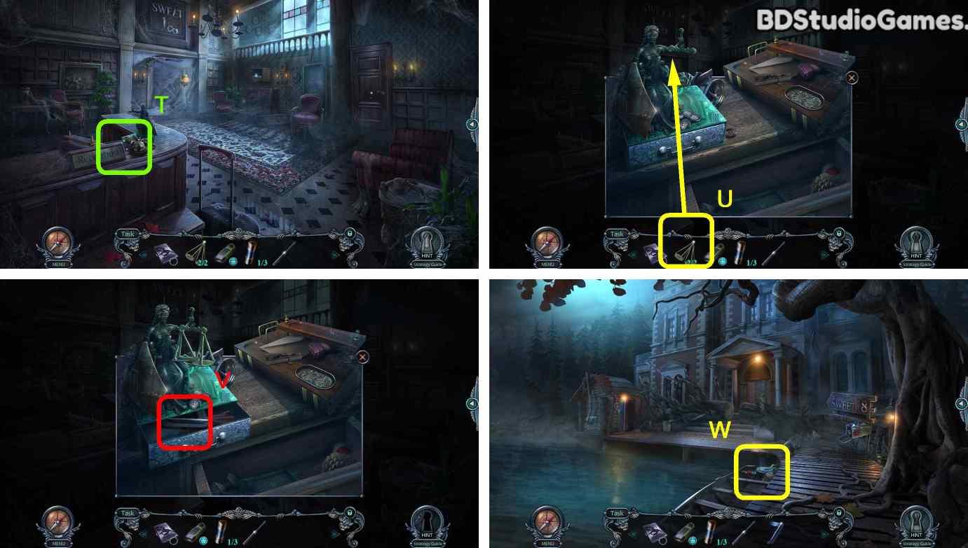 Haunted Hotel: Room 18 Walkthrough Screenshot 0013