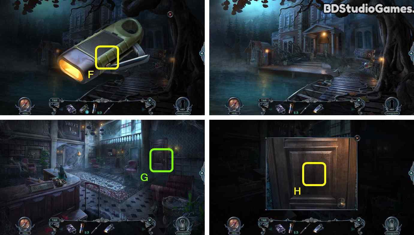 Haunted Hotel: Room 18 Walkthrough Screenshot 0016