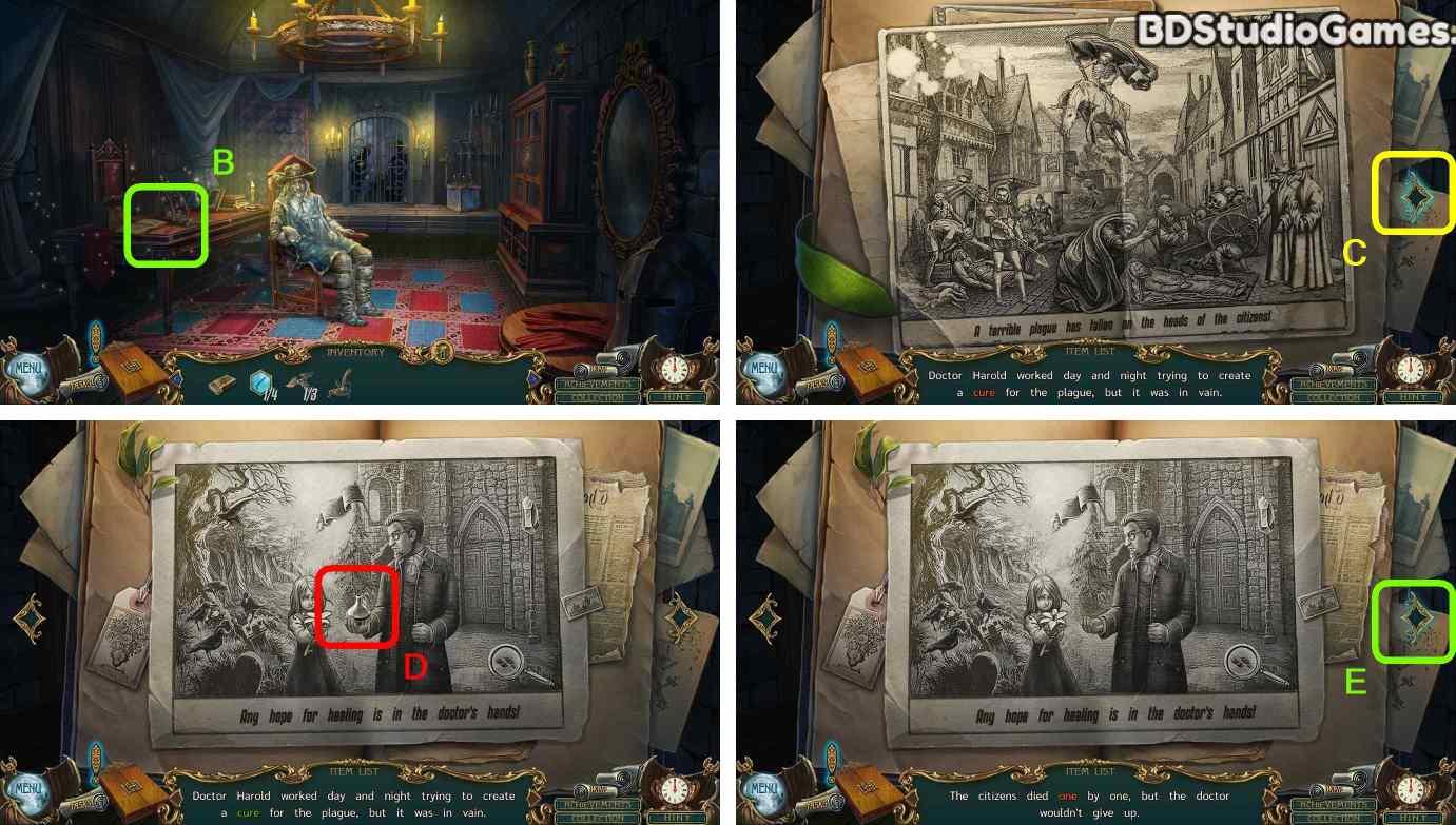 Haunted Legends: The Call of Despair Walkthrough Screenshot 0024