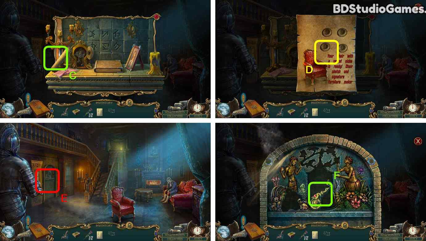 Haunted Legends: The Call of Despair Walkthrough Screenshot 0090
