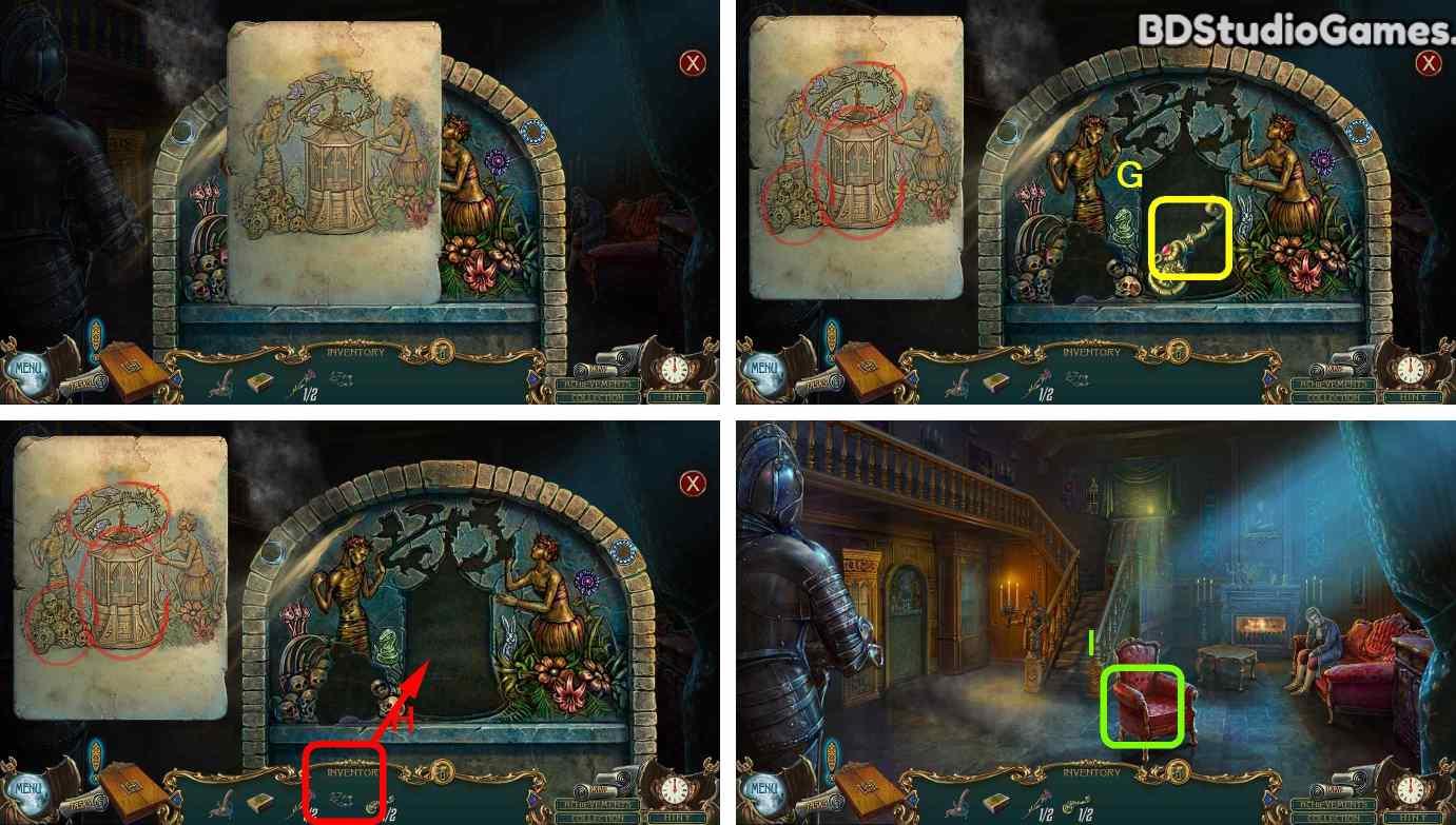 Haunted Legends: The Call of Despair Walkthrough Screenshot 0091