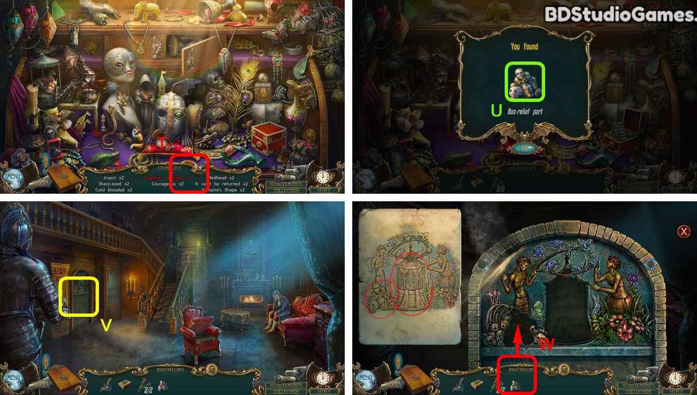 Haunted Legends: The Call of Despair Walkthrough Screenshot 0094