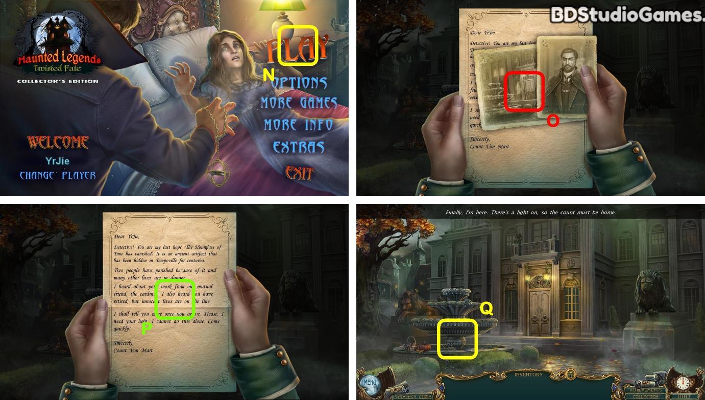 Haunted Legends: Twisted Fate Walkthrough Screenshot 0001