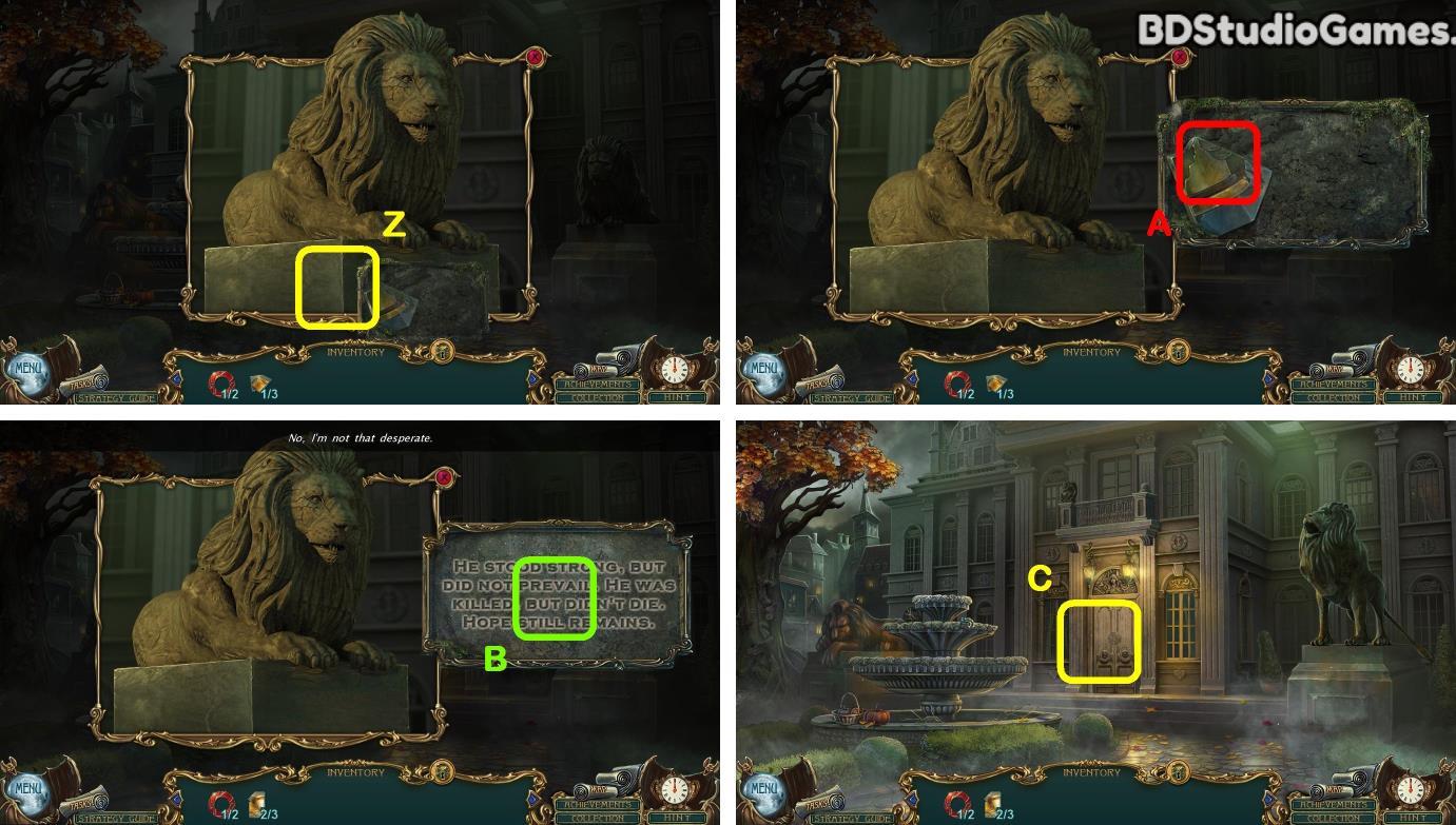 Haunted Legends: Twisted Fate Walkthrough Screenshot 0004